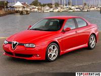 2002 Alfa Romeo 156 GTA = 250 kph, 247 bhp, 6.3 sec.