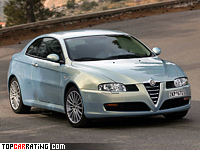2003 Alfa Romeo GT 3.2 V6 = 246 kph, 240 bhp, 6.5 sec.