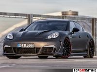 2012 Porsche Panamera Turbo Prior Design Prior600 WB = 305 kph, 600 bhp, 3.9 sec.