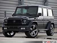 2014 Mercedes-Benz G 55 AMG Prior Design G-Class Widebody = 210 kph, 500 bhp, 5.5 sec.