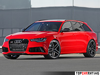 2014 Audi RS6 Avant  HPerformance AS = 310 kph, 700 bhp, 3.5 sec.