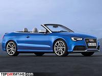 2012 Audi RS5 Cabriolet = 280 kph, 450 bhp, 4.8 sec.