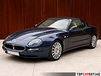 2002 Maserati Coupe 4.2 V8 GT = 286 kph, 385 bhp, 4.7 sec.