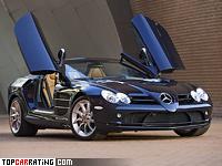 2007 Mercedes-Benz SLR McLaren Roadster (R199) = 328 kph, 626 bhp, 3.9 sec.