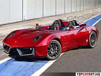 2011 Spada Codatronca Monza = 355 kph, 700 bhp, 3.2 sec.