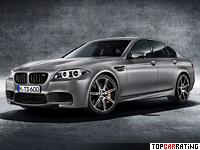 2014 BMW M5 30th Anniversary = 305 kph, 600 bhp, 3.9 sec.