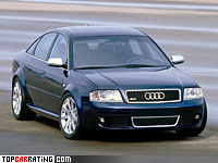 2002 Audi RS6 Sedan (4B,C5) = 250 kph, 450 bhp, 4.9 sec.