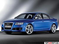 2008 Audi RS6 Sedan (4F,C6) = 250 kph, 580 bhp, 4.5 sec.