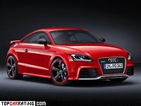 2012 Audi TT RS plus Coupe (8J) = 278 kph, 355 bhp, 4.2 sec.