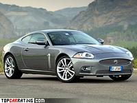 2007 Jaguar XKR Coupe = 250 kph, 510 bhp, 4.8 sec.