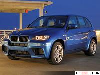 2009 BMW X5 M = 250 kph, 555 bhp, 4.7 sec.