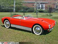 1956 Saab Sonett (94) = 157 kph, 58 bhp, 12.9 sec.