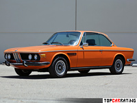 1971 BMW 3.0 CSi (E9) = 217 kph, 197 bhp, 7.7 sec.