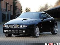 1992 Lancia Hyena Zagato = 240 kph, 250 bhp, 5.5 sec.