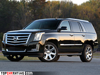 2015 Cadillac Escalade = 228 kph, 420 bhp, 6.3 sec.
