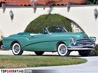 1953 Buick Roadmaster Skylark = 166 kph, 190 bhp, 14.3 sec.