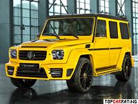 2013 Mercedes-Benz G 63 AMG Mansory Gronos = 250 kph, 840 bhp, 4.5 sec.