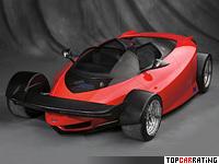 1996 Ford Indigo Concept = 274 kph, 435 bhp, 3.9 sec.