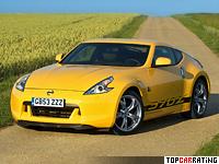 2009 Nissan 370Z = 250 kph, 336 bhp, 5.4 sec.