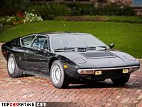 1974 Lamborghini Urraco P300 = 247 kph, 265 bhp, 6.2 sec.