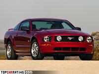 2005 Ford Mustang GT = 249 kph, 304 bhp, 5.5 sec.