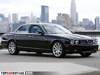 2007 Jaguar XJ (X358) = 277 kph, 400 bhp, 5.1 sec.