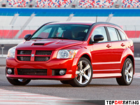 2007 Dodge Caliber SRT4 = 238 kph, 300 bhp, 5.9 sec.