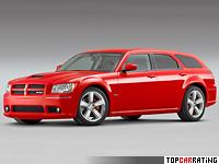 2007 Dodge Magnum SRT8 (LX) = 278 kph, 425 bhp, 5.4 sec.