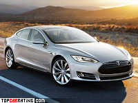 Tesla Model S electric motor RWD 2012