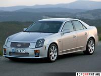 2003 Cadillac CTS-V = 268 kph, 405 bhp, 4.7 sec.