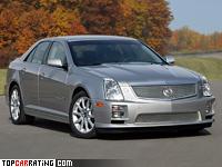 2005 Cadillac STS-V = 250 kph, 440 bhp, 5.4 sec.