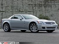 2006 Cadillac XLR-V = 250 kph, 444 bhp, 4.7 sec.
