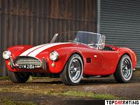 1963 AC Cobra 289 (MkII) = 223 kph, 275 bhp, 5.5 sec.