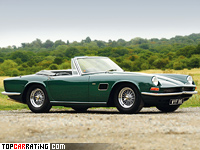 1967 AC 428 Convertible = 225 kph, 350 bhp, 6.1 sec.