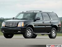 2004 Cadillac Escalade = 195 kph, 345 bhp, 7 sec.