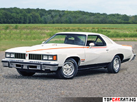 1977 Pontiac LeMans Can Am = 213 kph, 200 bhp, 10 sec.