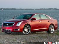 2014 Cadillac XTS Vsport = 255 kph, 410 bhp, 5.5 sec.