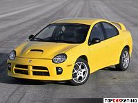 2004 Dodge Neon SRT4 = 240 kph, 230 bhp, 6.7 sec.