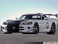 2010 Dodge Viper SRT10 ACR-X = 328 kph, 649 bhp, 3.6 sec.