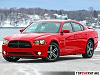 2013 Dodge Charger AWD Sport = 260 kph, 370 bhp, 4.7 sec.