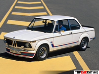 1974 BMW 2002 Turbo (E20) = 209 kph, 170 bhp, 7.8 sec.
