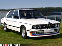 1980 BMW M535i (E12) = 225 kph, 218 bhp, 6.8 sec.