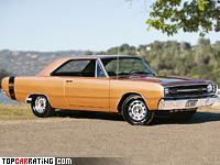 1969 Dodge Dart GTS 440 = 196 kph, 375 bhp, 5.9 sec.