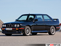 1989 BMW M3 Sport Evolution (E30) = 248 kph, 238 bhp, 6.4 sec.