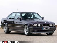 1994 BMW M5 (E34) = 250 kph, 340 bhp, 5.9 sec.