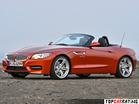 2012 BMW Z4 sDrive35is Roadster (E89) = 250 kph, 340 bhp, 4.8 sec.