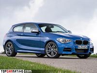 2012 BMW M135i 3-door (F21) = 250 kph, 320 bhp, 4.9 sec.