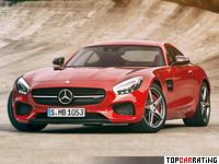 2016 Mercedes-AMG GT S (C190) = 310 kph, 510 bhp, 3.8 sec.