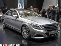 2015 Mercedes-Benz S 600 (W222) = 250 kph, 530 bhp, 4.6 sec.