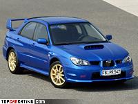 2006 Subaru Impreza WRX STi (GDB) = 255 kph, 280 bhp, 5.7 sec.